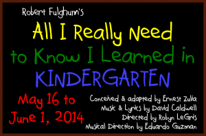 All I Really Need to Know I Learned in Kindergarten - Pearl Theater